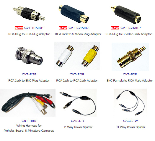 Connectors and Converters